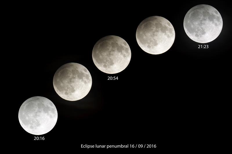 Eclipse Lunar Penumbral 16-09-2016