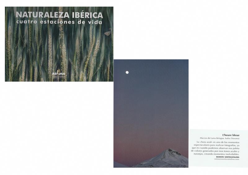 Libro Naturaleza Ibérica - cuatro estaciones de vida - AEFONA